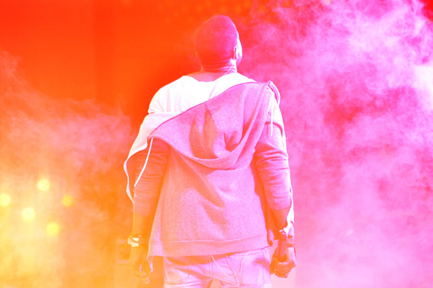 kanye west moma garden party by tommy ton