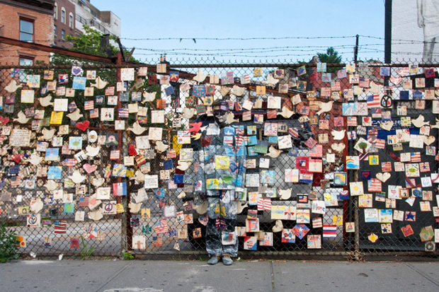 liu bolin hiding in new york