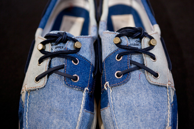 sperry top sider x band of outsiders 2012 springsummer authentic original patterns preview