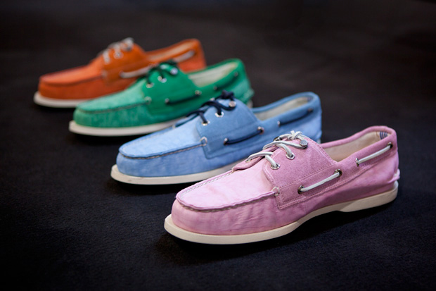sperry top sider x band of outsiders 2012 springsummer authentic original pastel preview