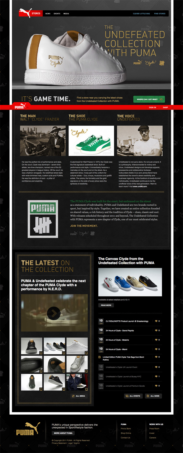 http://hypebeast.com/2011/6/undefeated-x-puma-collection-mini-website