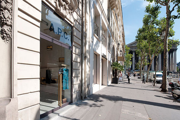 http://hypebeast.com/2011/7/a-p-c-rue-royale-store-opening