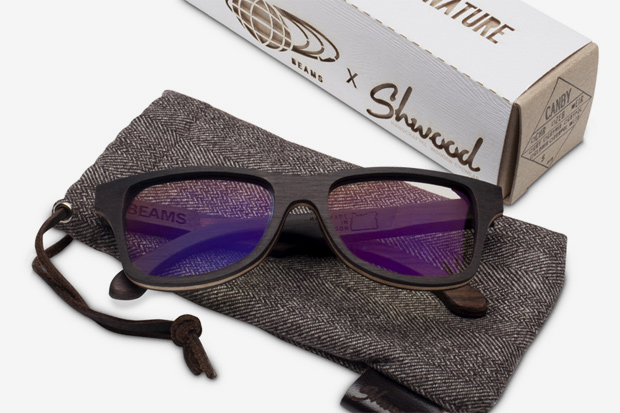 shwood for beams limited edition canby frames