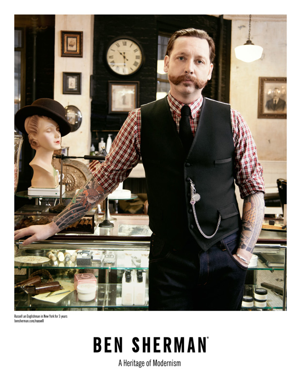ben sherman englishman in new york 2011 fall campaign