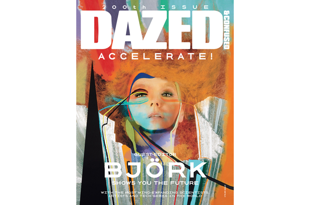 dazed confused 200th issue bjork guest editor