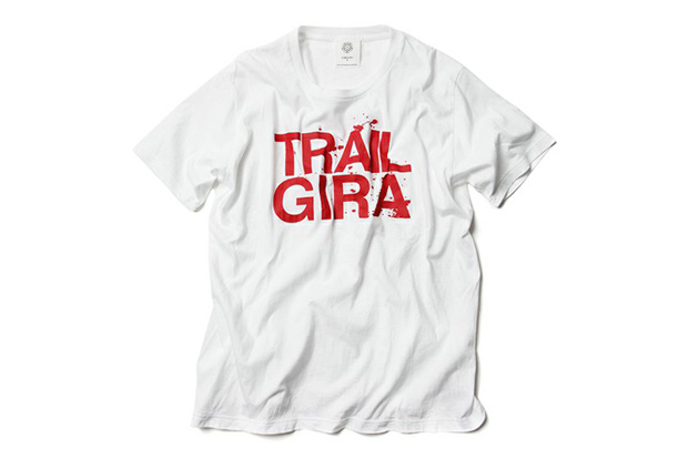 fourours x gira trail t shirt