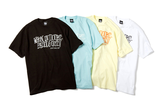 gerry lopez x stussy t shirt collection