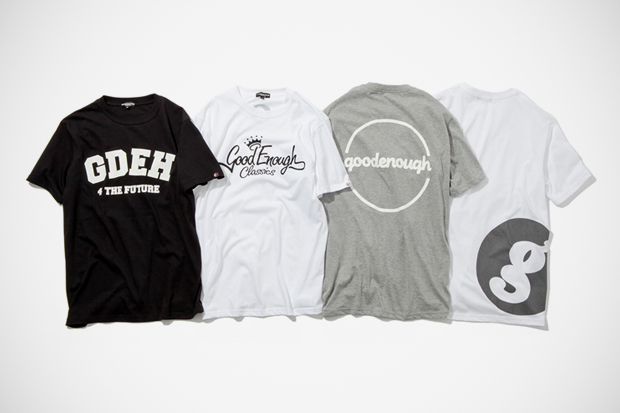 goodenough reissue t shirt collection