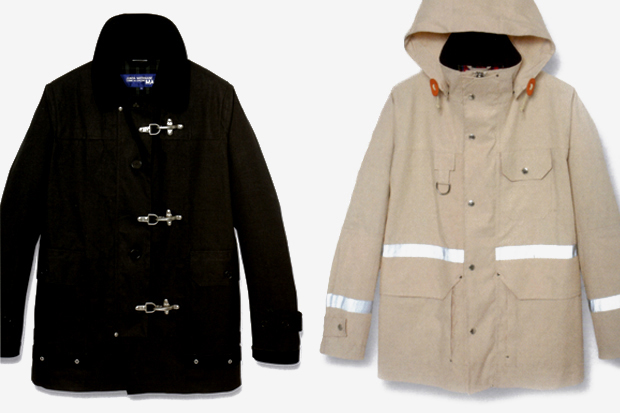 junya watanabe comme des garcons man x mackintosh capsule collection