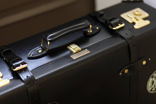 mastermind japan x globe trotter trunk preview