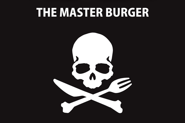mastermind japan x the master burger the great burger project