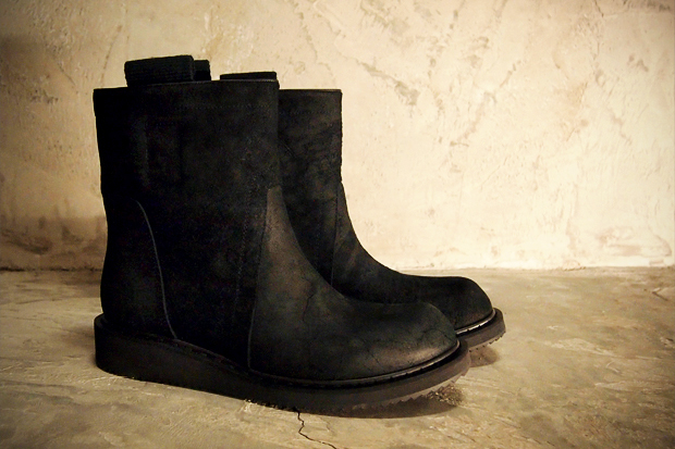 rick owens 2011 fallwinter low boots
