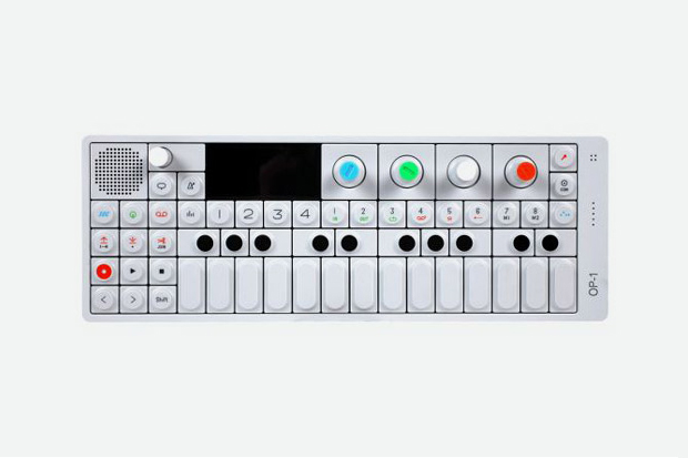 teenage engineering x aiaiai op 1 synthesizer and controller