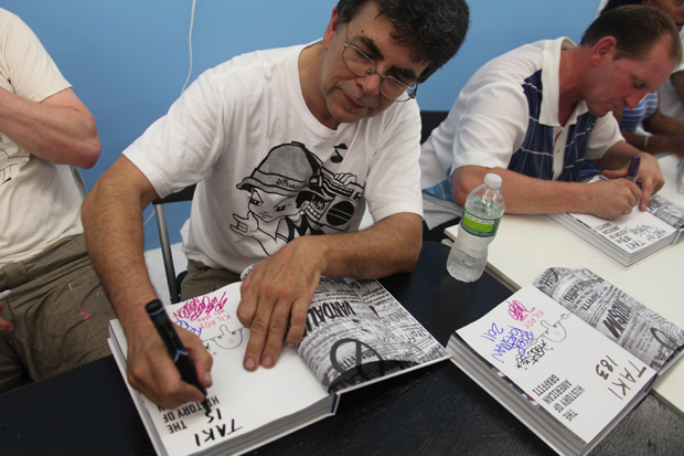 the history of american graffiti book signing the hole event recap