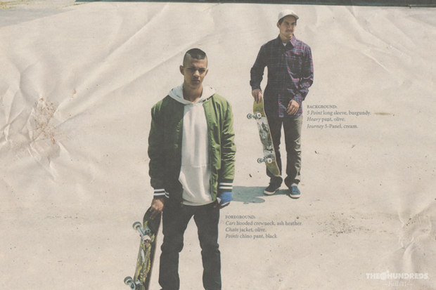 the hundreds 2011 fall collection lookbook