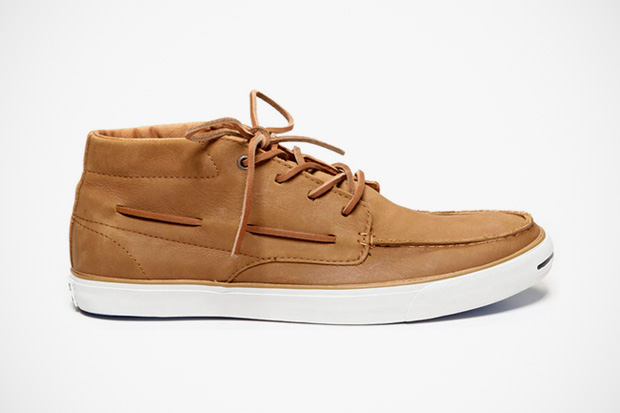 Converse Jack Purcell Leather Boat Shoe