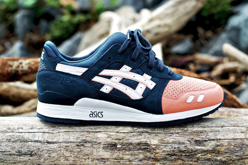 ronnie fieg x asics gel lyte iii salmon toe hypebeast. Black Bedroom Furniture Sets. Home Design Ideas