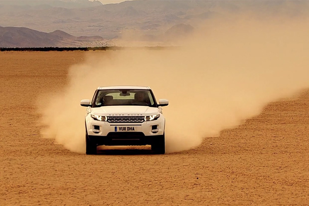 top gear test drives the range rover evoque hypebeast. Black Bedroom Furniture Sets. Home Design Ideas