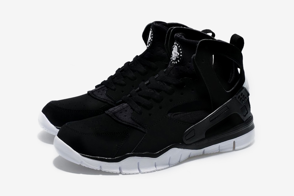 black nike huarache free run