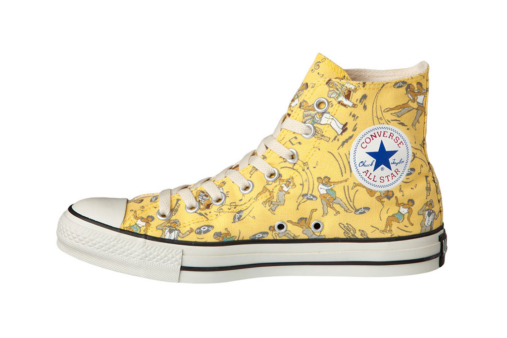 patterned converse all star