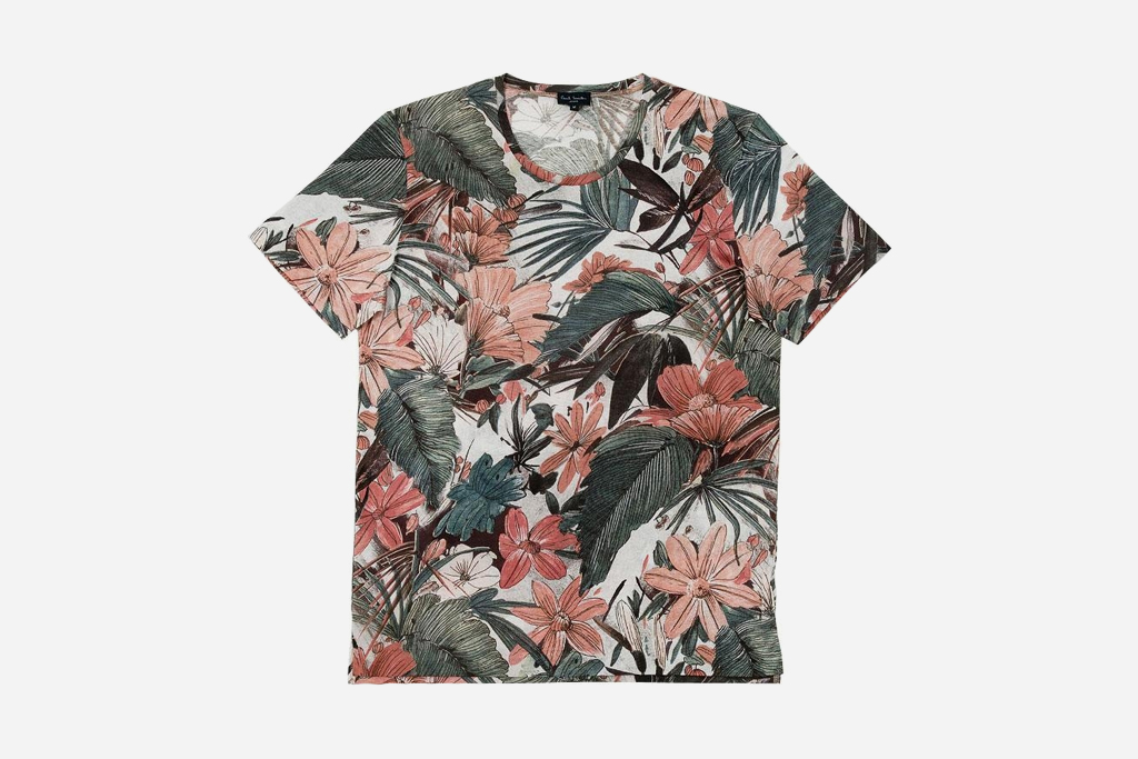 Paul smith 2012 spring floral t shirts hypebeast for Paul smith floral shirt