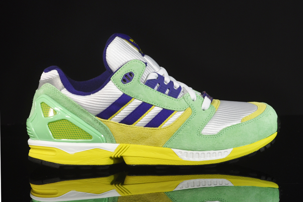 adidas zx 8000 white super green collegiate purple hypebeast. Black Bedroom Furniture Sets. Home Design Ideas