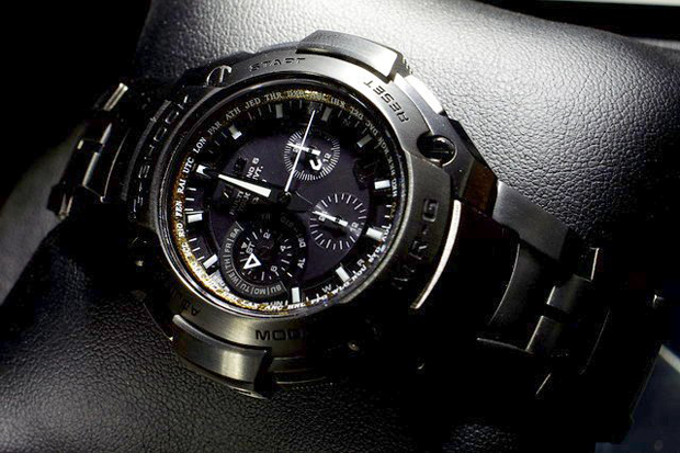 how to change time on casio g shock