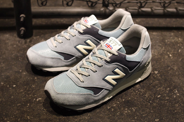 New Balance Made in England Red Grey