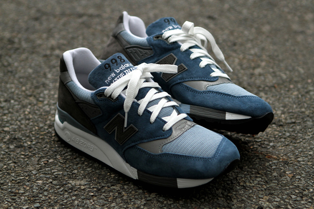 new balance 998 blue denim for sale