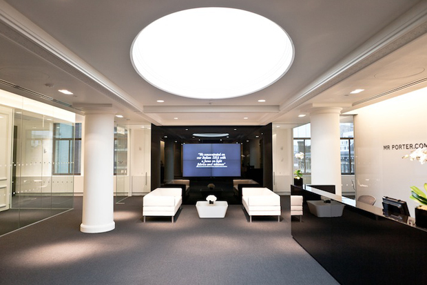 A look inside the net a porter new york city office for Net a porter