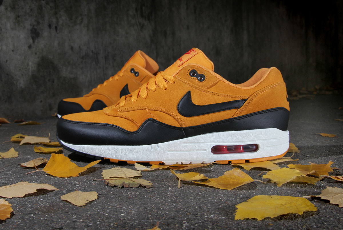 nike air max 1 premium canyon gold hypebeast. Black Bedroom Furniture Sets. Home Design Ideas