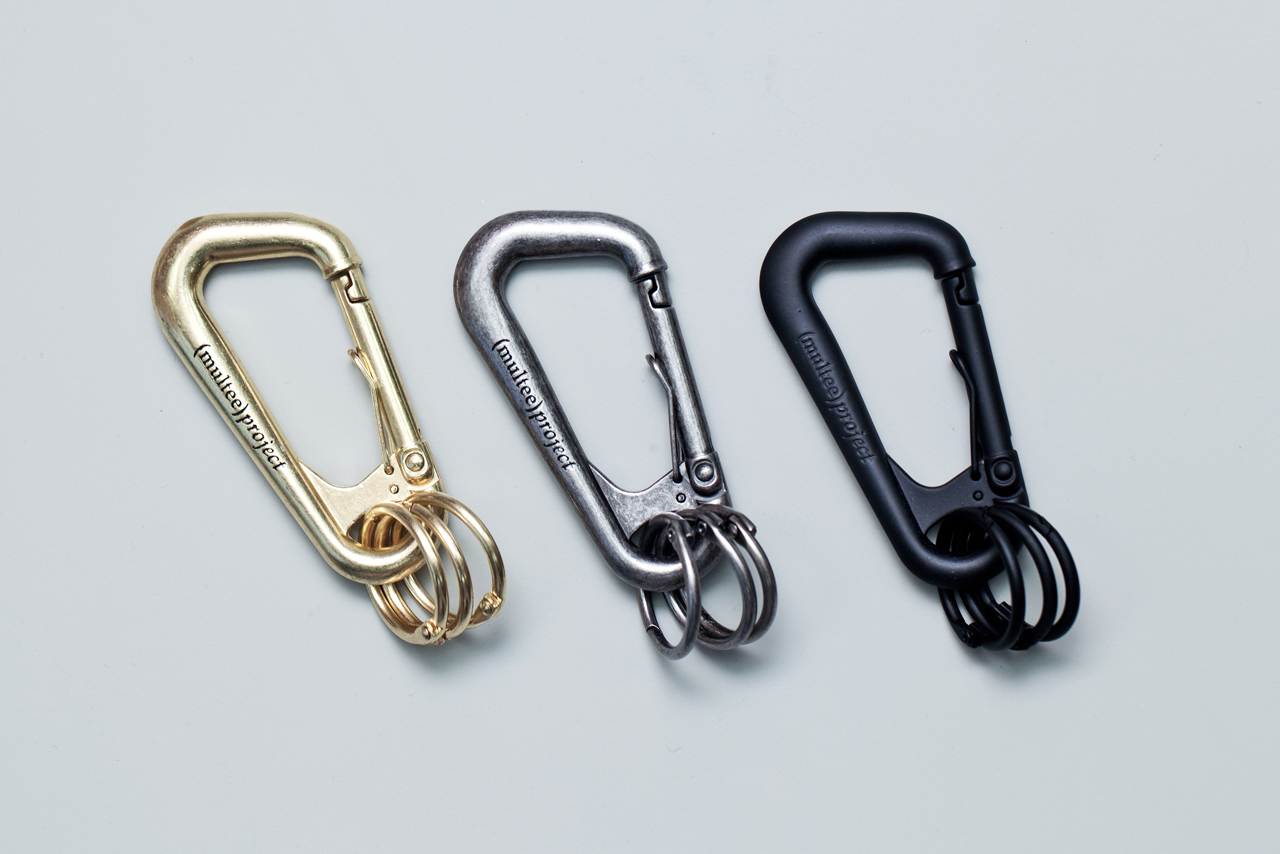 Multee project type 1 custom carabiners hypebeast for Designer carabiner