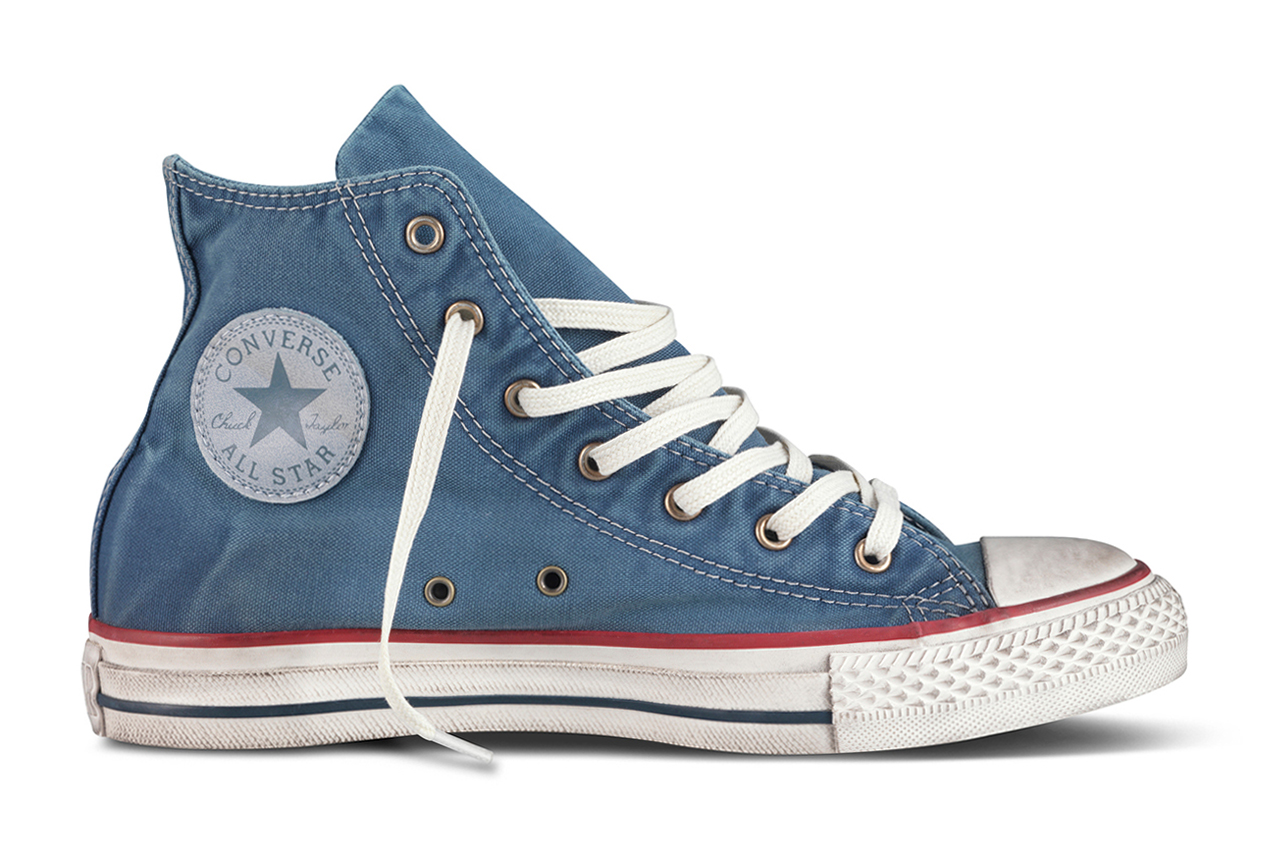 converse chuck taylor all star well worn collection. Black Bedroom Furniture Sets. Home Design Ideas