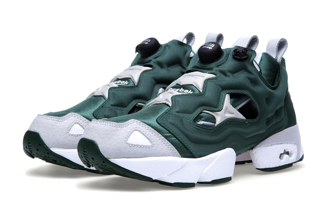 reebok pump fury racing green hypebeast. Black Bedroom Furniture Sets. Home Design Ideas