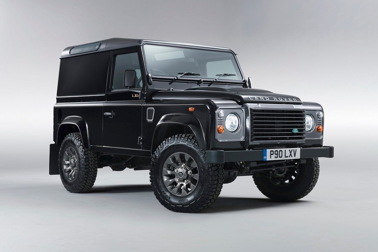 Land Rover Defender Lxv Special Edition Hypebeast