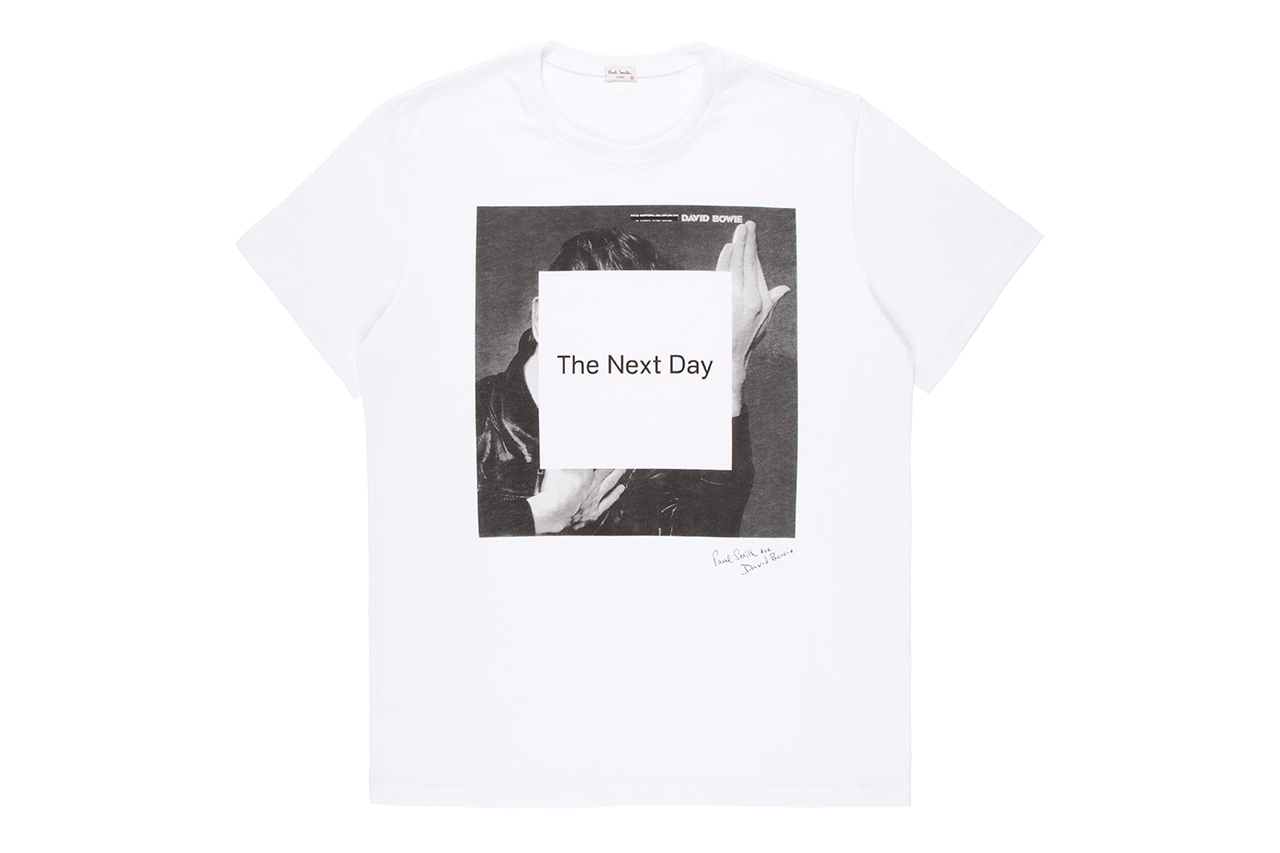paul smith for david bowie the next day t shirt hypebeast
