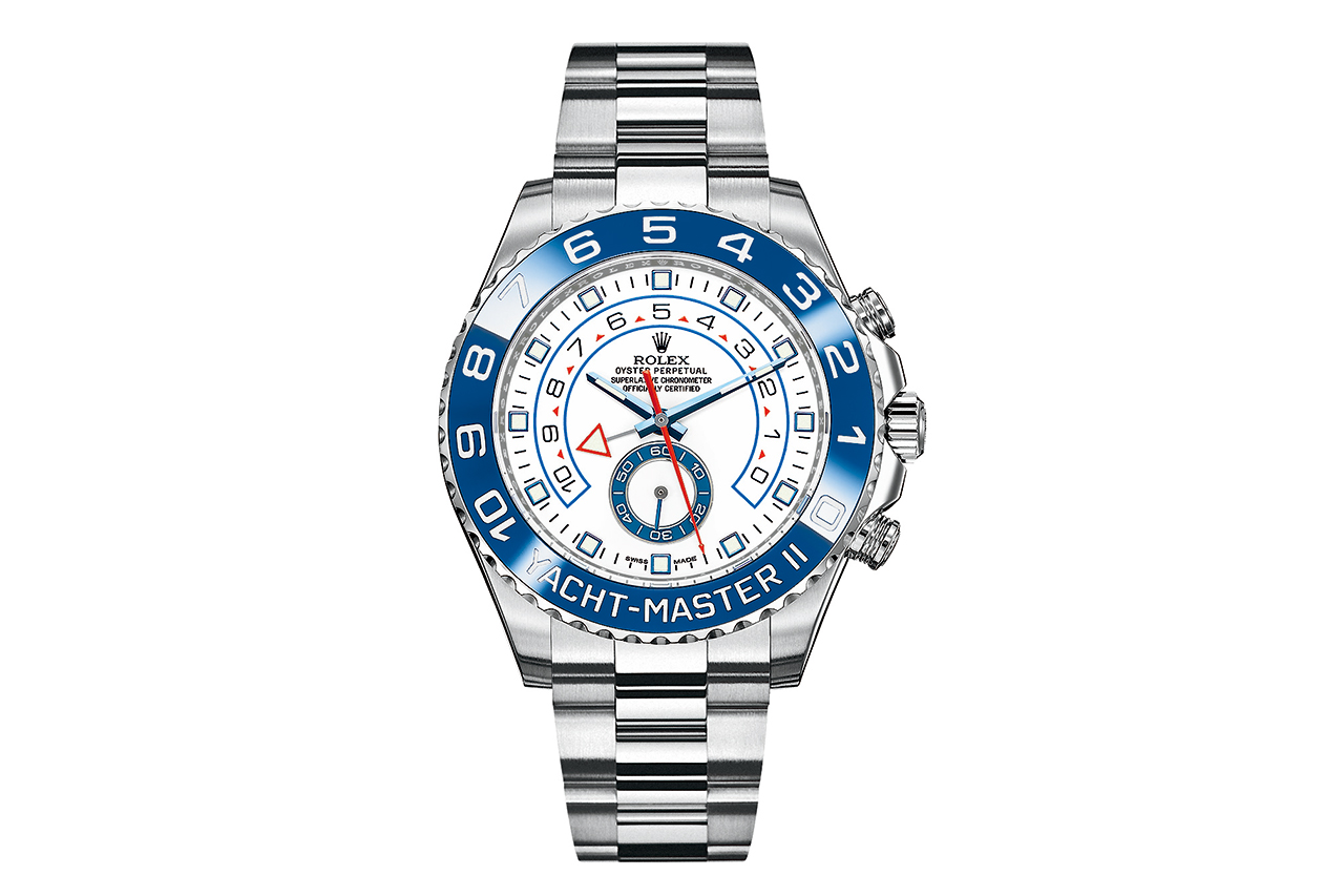 rolex 2013 oyster perpetual yachtmaster ii 904l steel