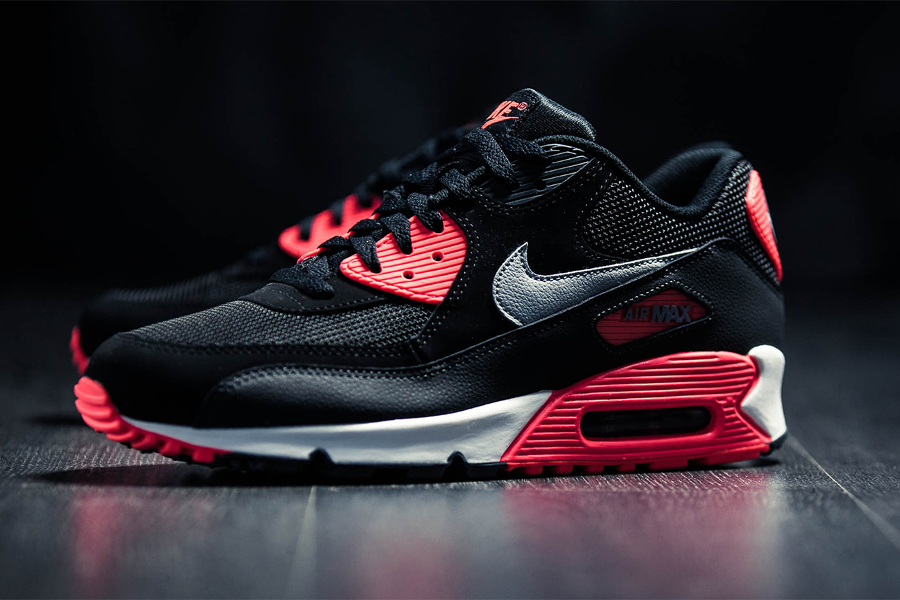 nike air max 90 essential infrared hypebeast. Black Bedroom Furniture Sets. Home Design Ideas