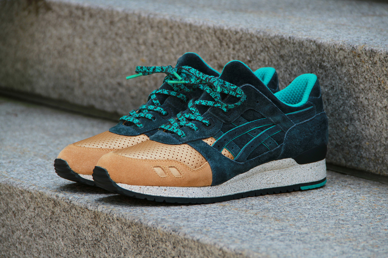 a closer look at the concepts x asics gel lyte iii three lies hypebeast. Black Bedroom Furniture Sets. Home Design Ideas