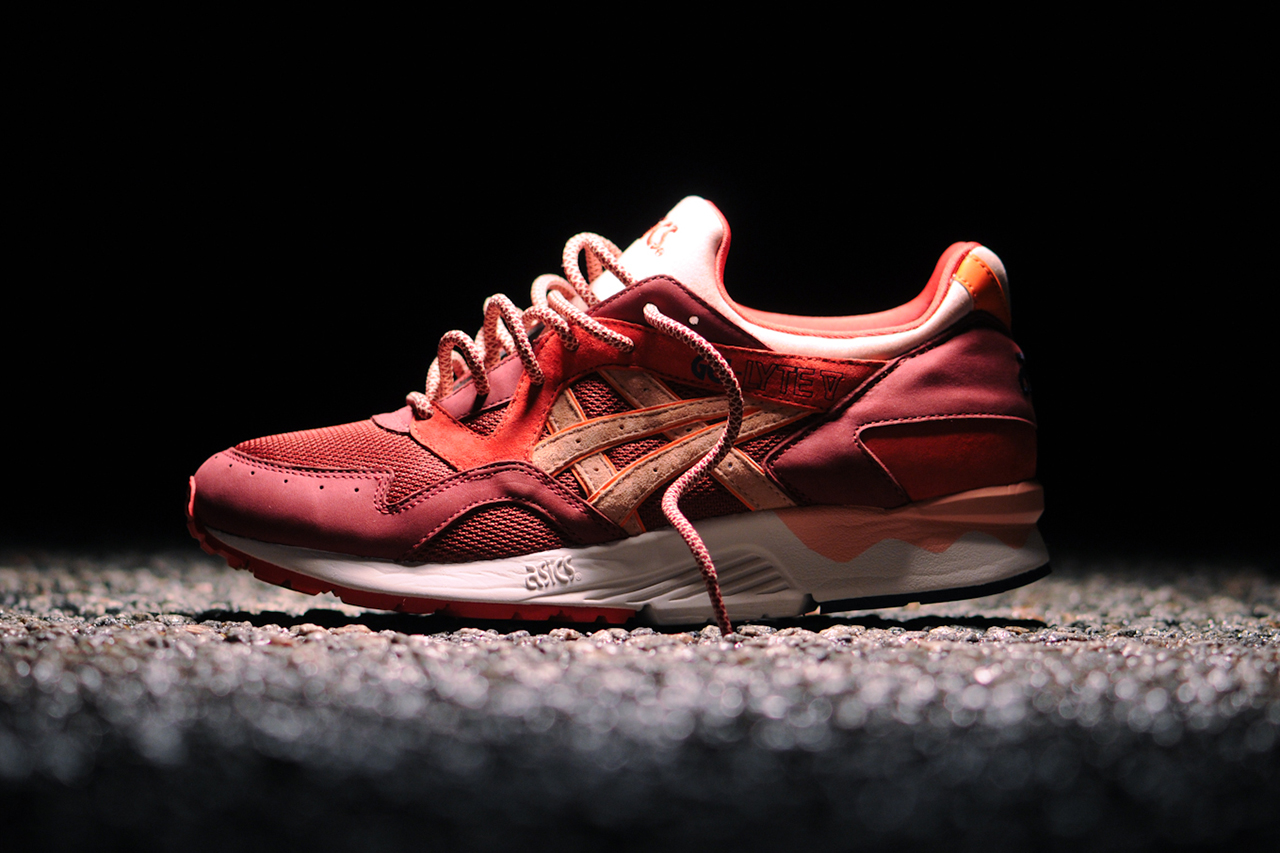 ronnie fieg x asics gel lyte v volcano hypebeast. Black Bedroom Furniture Sets. Home Design Ideas