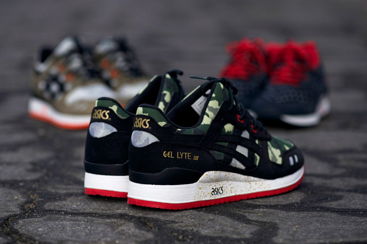 bait x asics gel lyte iii basics model 001 vanquish preview hypebeast. Black Bedroom Furniture Sets. Home Design Ideas