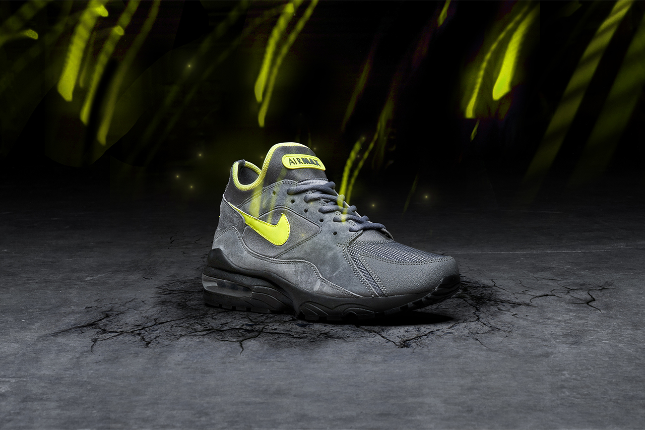 nike air max 93 volt size exclusive hypebeast. Black Bedroom Furniture Sets. Home Design Ideas