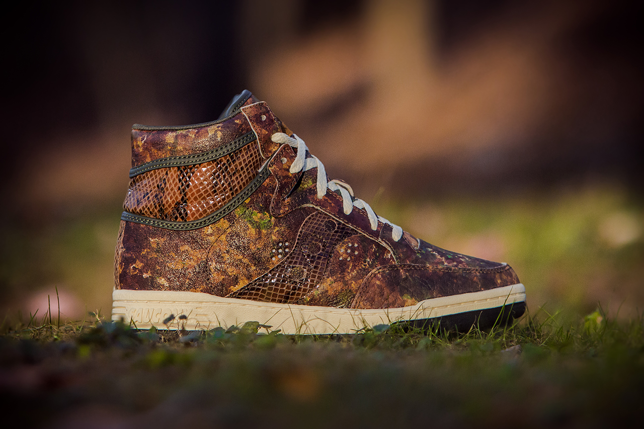 packer shoes x saucony hangtime quot woodland snake quot hypebeast
