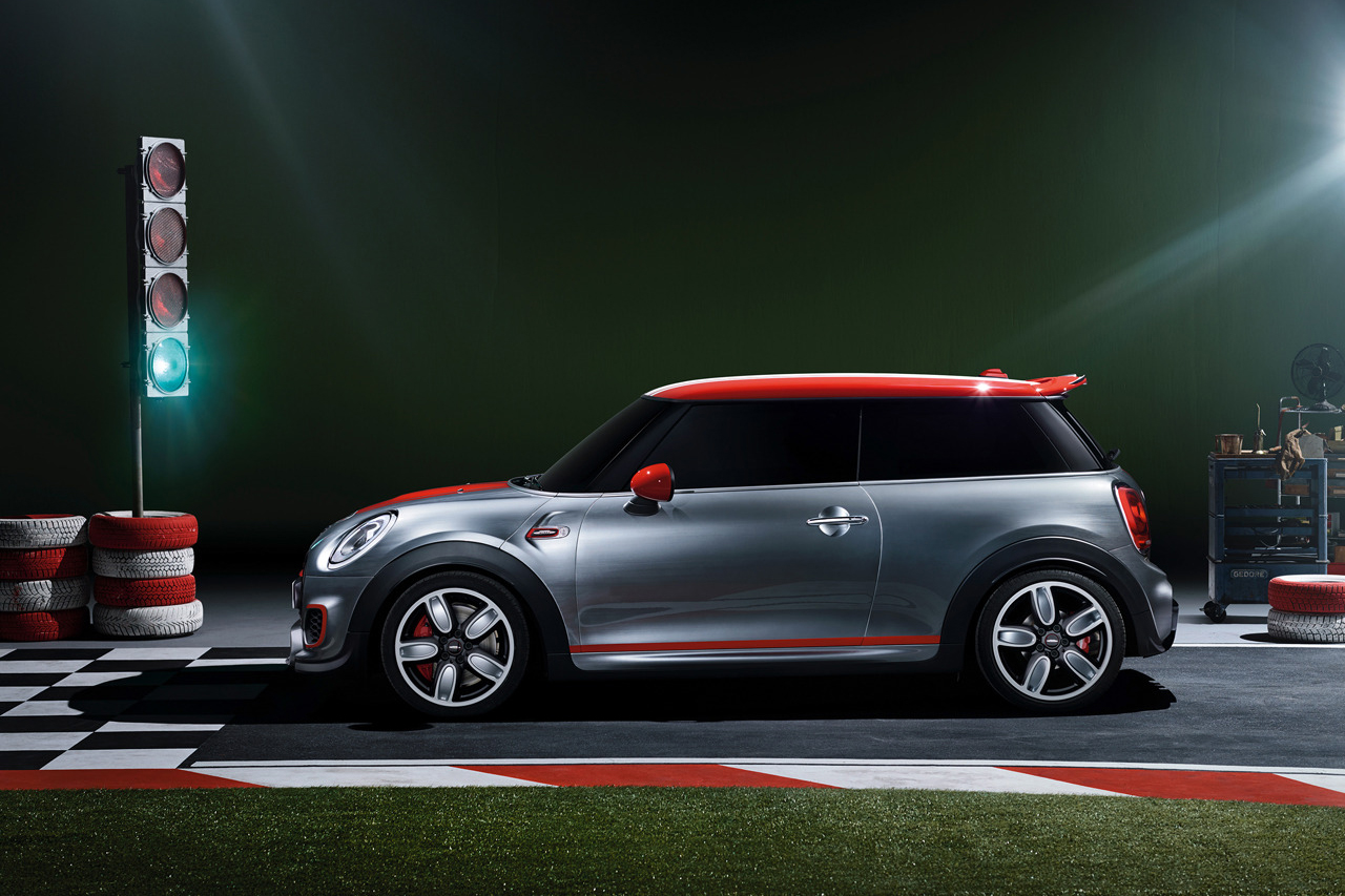mini john cooper works concept hypebeast. Black Bedroom Furniture Sets. Home Design Ideas