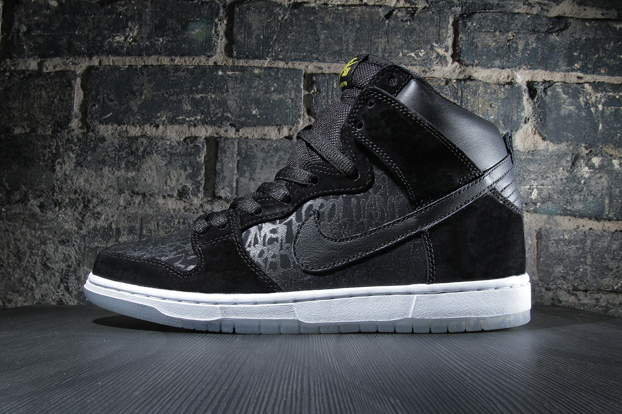 neckface x nike sb dunk high pro chronicles 2 hypebeast. Black Bedroom Furniture Sets. Home Design Ideas
