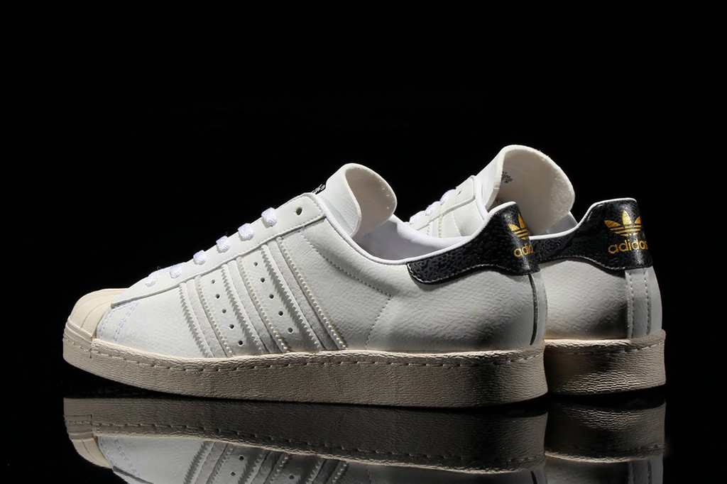 Cheap Adidas Originals Infant Superstar Black/White Feature Sneaker