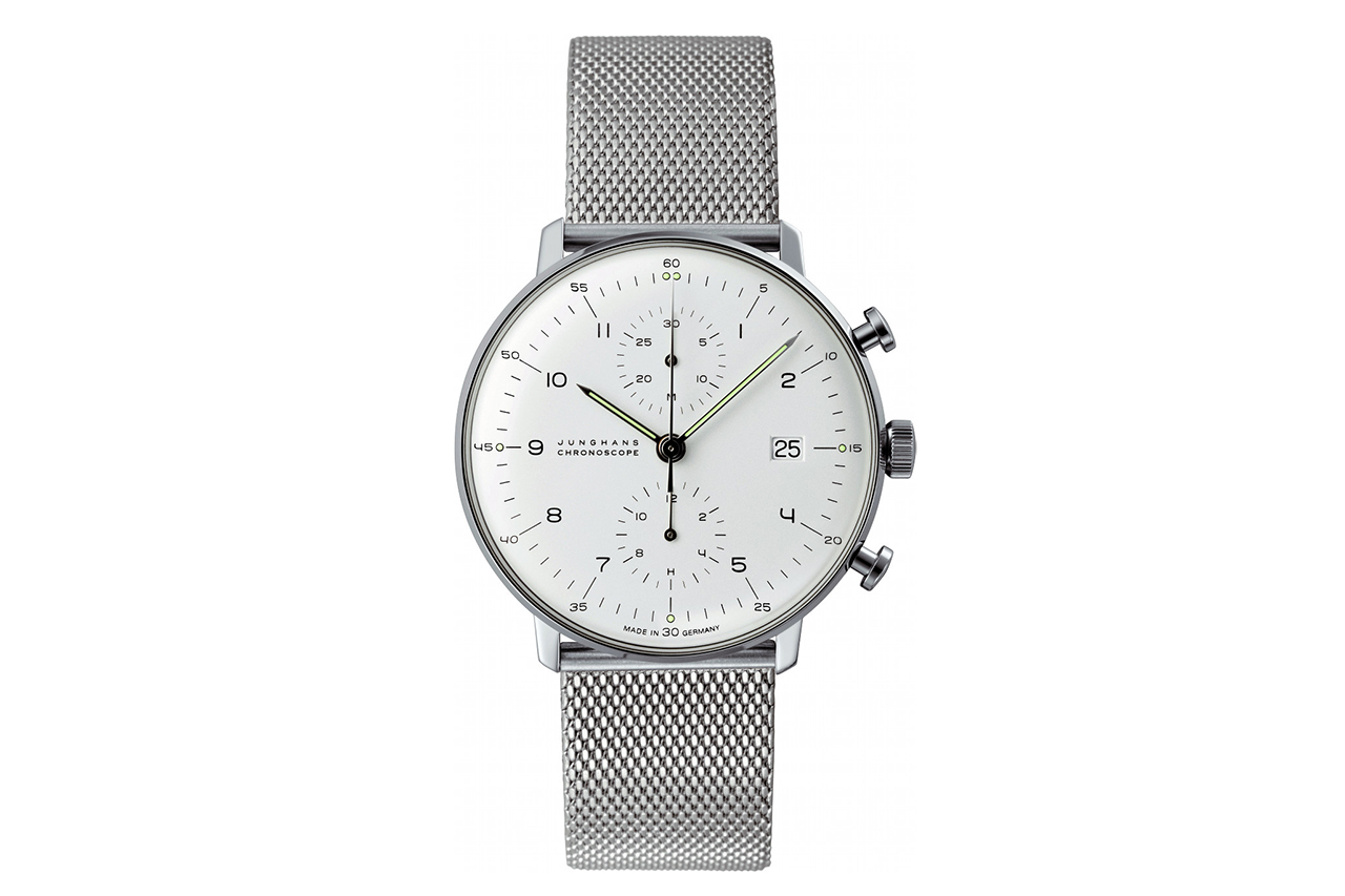 max bill x junghans chronoscope watch hypebeast. Black Bedroom Furniture Sets. Home Design Ideas