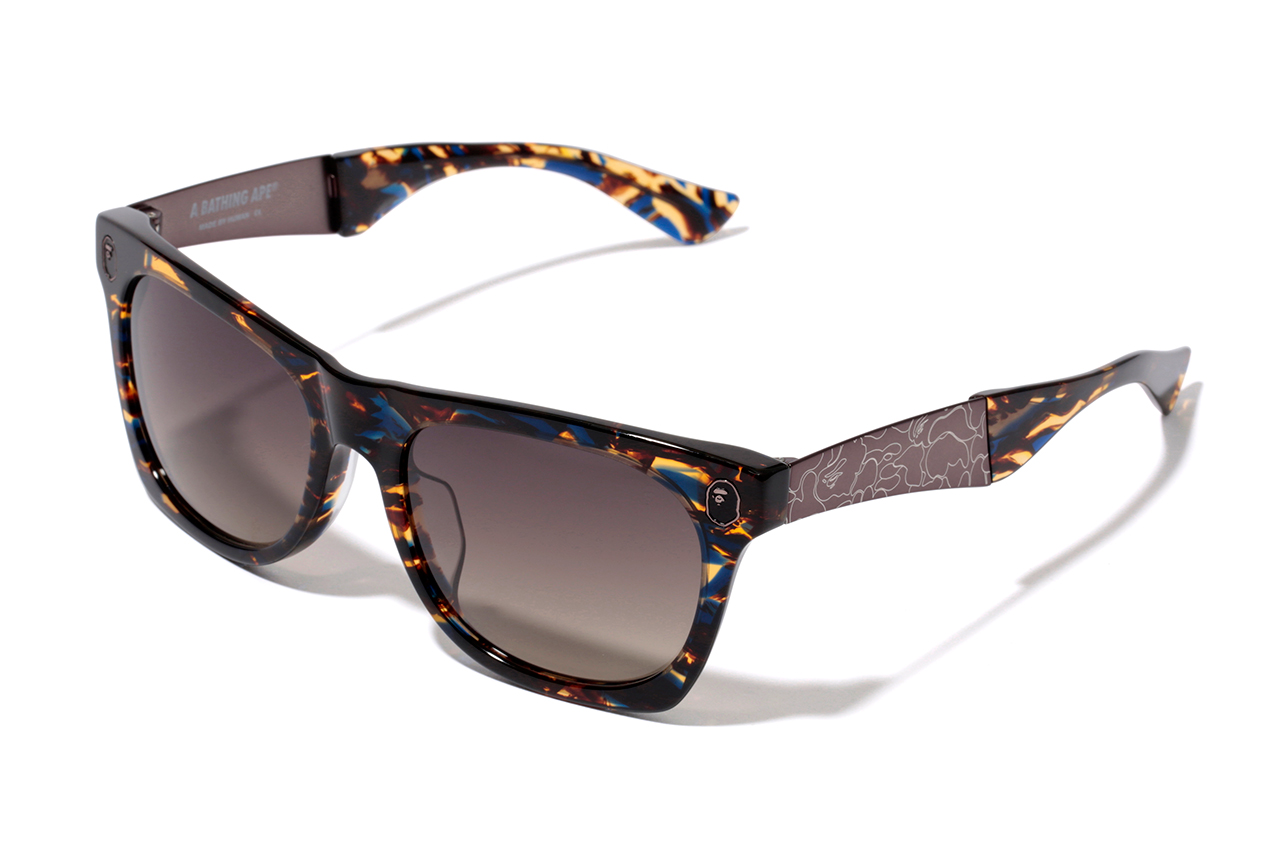 a bathing ape eyewear collection hypebeast