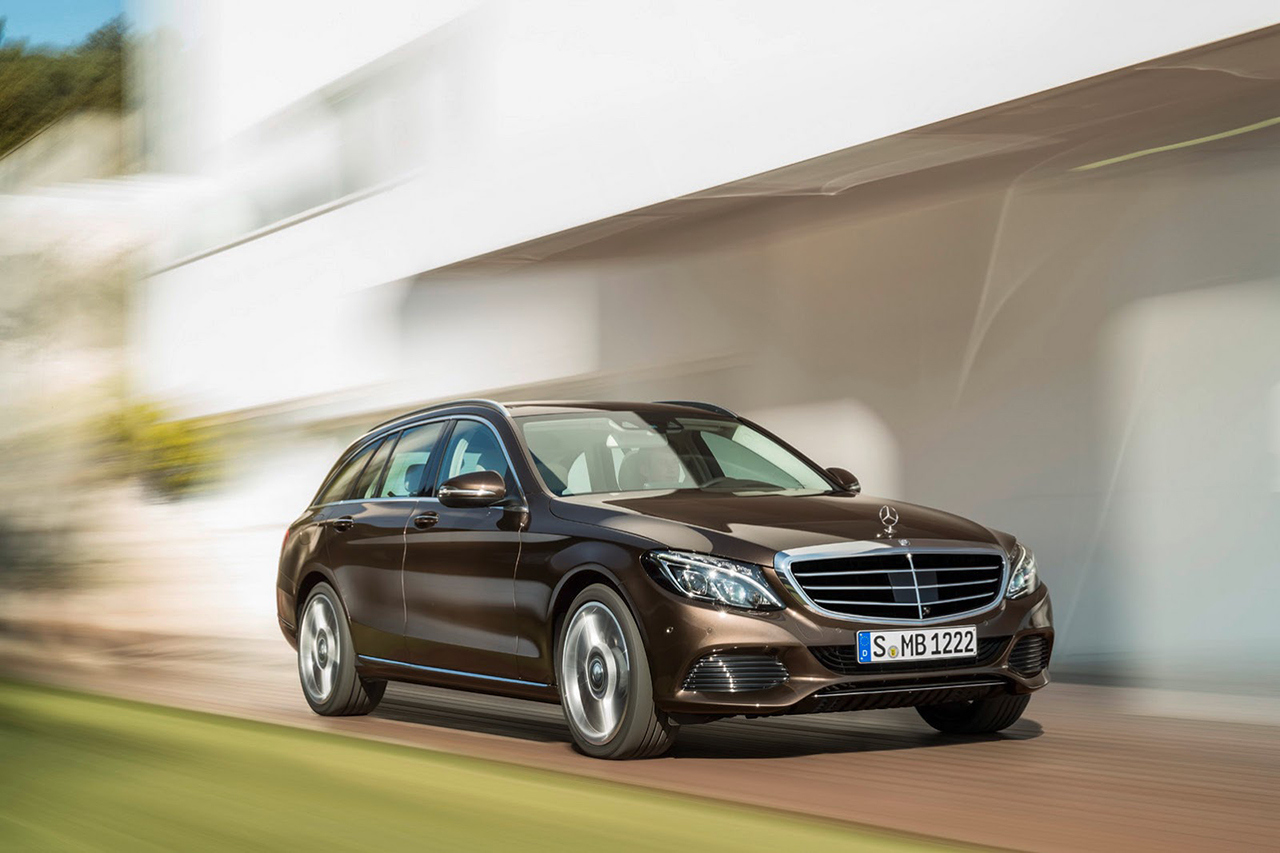 Mercedes benz 2015 c class estate hypebeast for Mercedes benz employee salary
