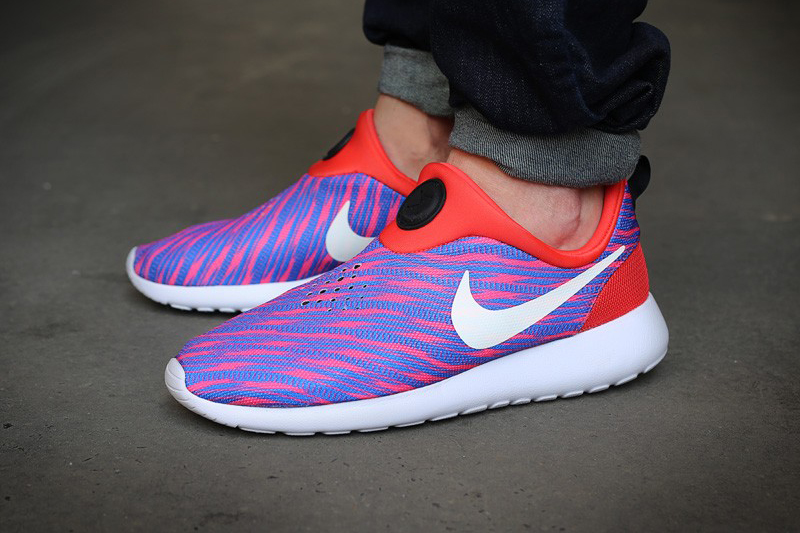 Running Shoes Women Suede Blue White Nike Roshe Run Undoubtedly Choice Shoes Discount Switzerland